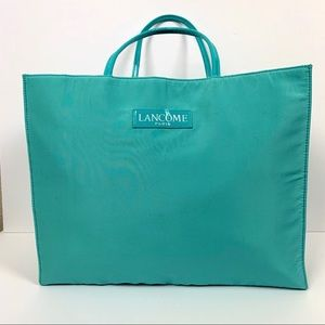 Lancôme Paris Tote Bag Aqua Blue